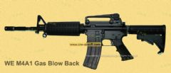 M4A1 Gas Blow Back Open Chamber (no marking) by WE